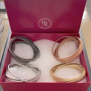 HOLT RENFREW - Bangle Bracelets - 4 Sets
